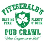 Fitzgerald's Irish Pub Crawl