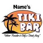 Customized Tiki Bar