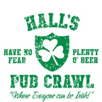 Hall's Irish Pub Crawl