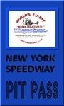 New York Speedway Pit Pass