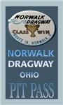 Norwalk Dragway Pit Pass
