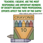 Teacher's, I Believe - Quote