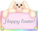 Floppy Bunny Happy Easter