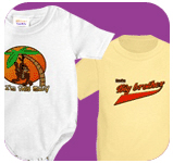 Kids gifts, t-shirts, onesies