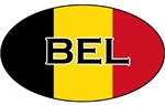 Belgian Stickers