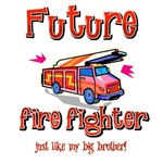Future firefighter just like my big brother