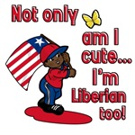 Not only am I cute I'm Liberian too!