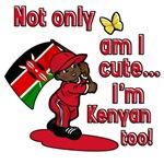 Not only am I cute I'm Kenyan too!