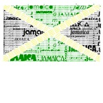 Jamaica Words Flag