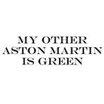 Green Aston Martin
