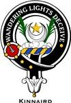 Kinnaird Clan Crest Badge