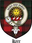 Kerr Clan Badge / Crest / Tartan