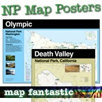 National Park Map Posters NEW!