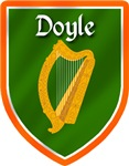 Doyle Family Irish Badge