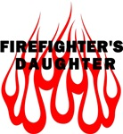 Firefighters Daughter T-Shirts and Gifts
