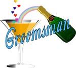 Champagne Toast Groomsman