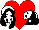 Panda Love Gifts & Personalized T-Shirts