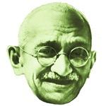 Realistic Green Gandhi
