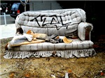 Graffiti Couch