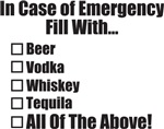 In Case of Emergency...All Of The Above!