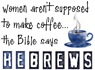 Bible Says Hebrews