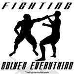 Fighting Solves Everything B/W