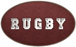 Rugby Leather Look T-Shirts Gifts