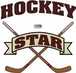 Hockey Star T-Shirts Gifts