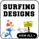 Surfing T Shirts Surfing T-Shirts Surfer Gifts