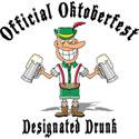 Oktoberfest Designated Drunk T-Shirt