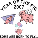 Some Are Born To Fly T-Shirts