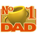 Number 1 Dad T-Shirts and Gifts