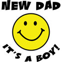 New Dad It's A Boy T-Shirt