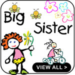 Big Sister Shirts Funny Big Sister Shirts Gifts