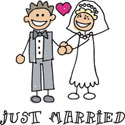 Just Married T-Shirt Gifts