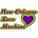 New Orleans Love Machine Mardi Gras T-Shirt