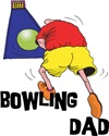Bowling Dad T-Shirt and Gifts