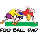Football Dad T-Shirt and Gifts