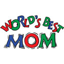 World's Best Mom T-Shirt Worlds Best Mom T-Shirts