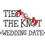 Tied The Knot (Add Wedding Date) T-Shirts