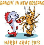 Funny Mardi Gras 2013 T-Shirts Gifts