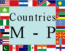 Countries M - P