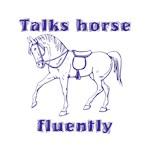 Talks Horse - purple