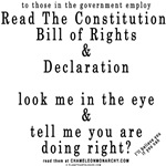 To Government Authorities