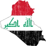 Iraq Flag And Map