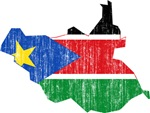 South Sudan Flag And Map