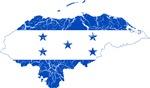 Honduras Flag And Map