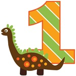 Dinosaur 1st Birthday