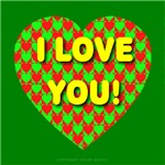 I Love You Heart of Hearts Style 2