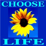 Choose Life Flower Power